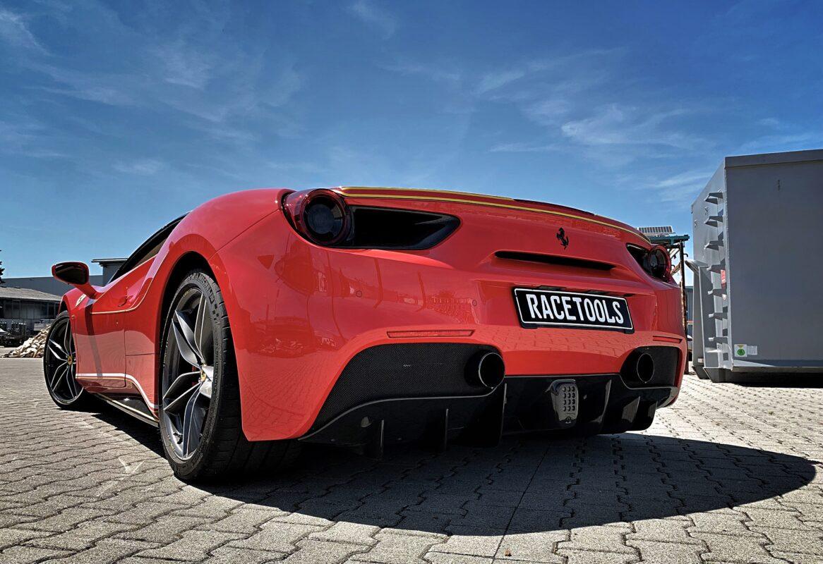 Ferrari 488 Spider GTB Tuning RaceTools
