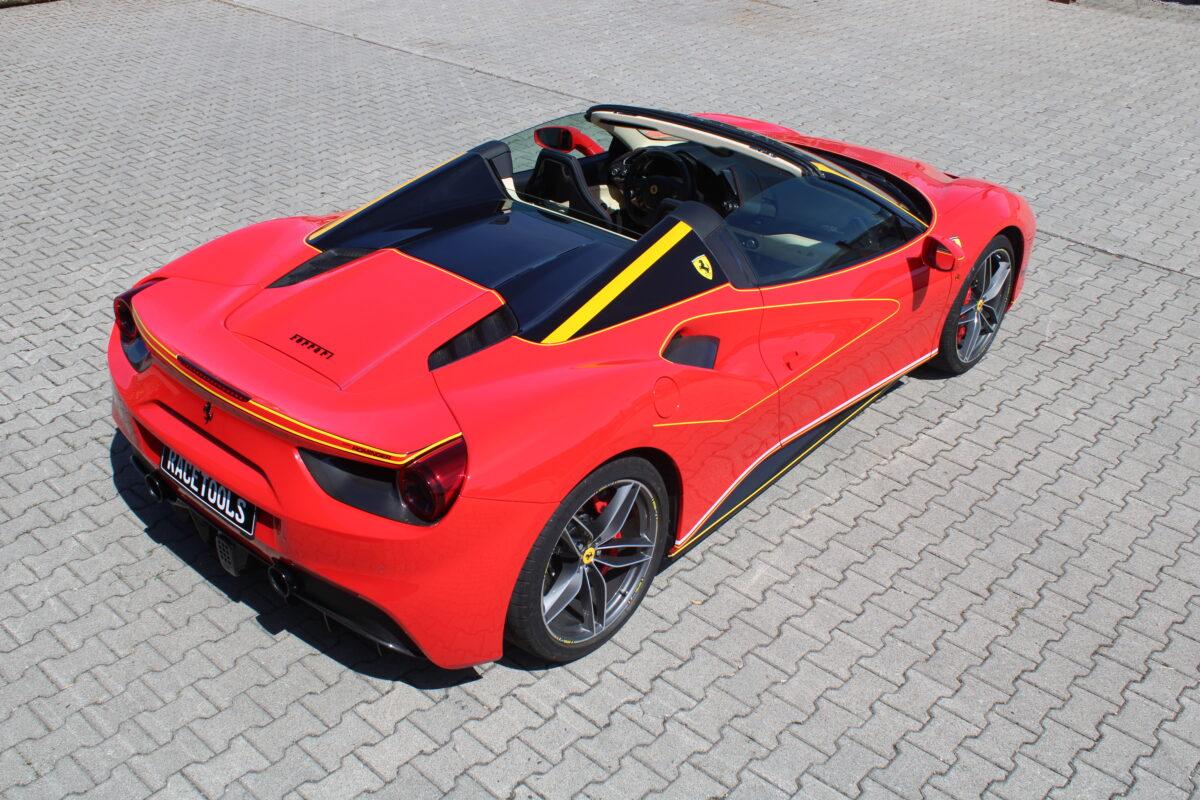 Performance 488 Spider Ferrari RaceTools