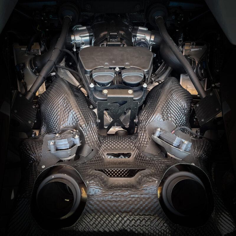McLaren 600LT Motor Tuning